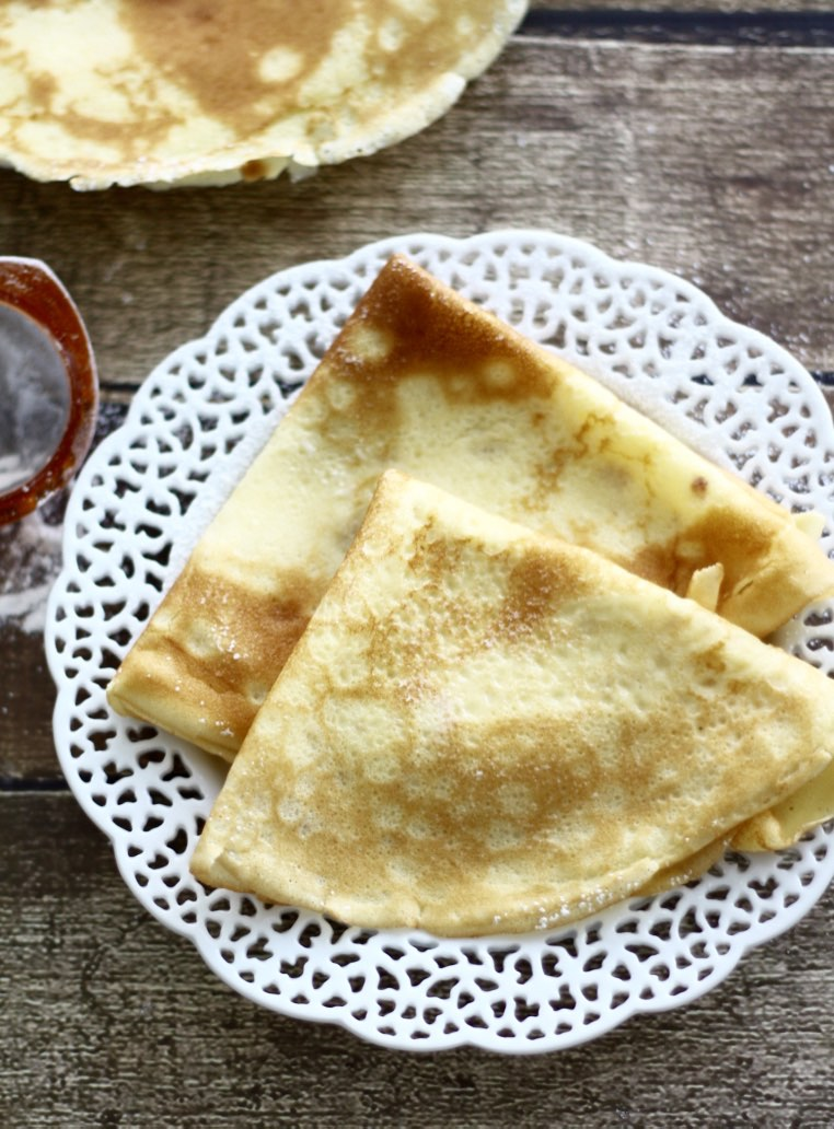 How to make basic French Crepes step-by-step