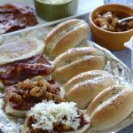 Bacon Cheese Sliders with Caramelize Pineapple Onions | SpoonfulOfButter.com