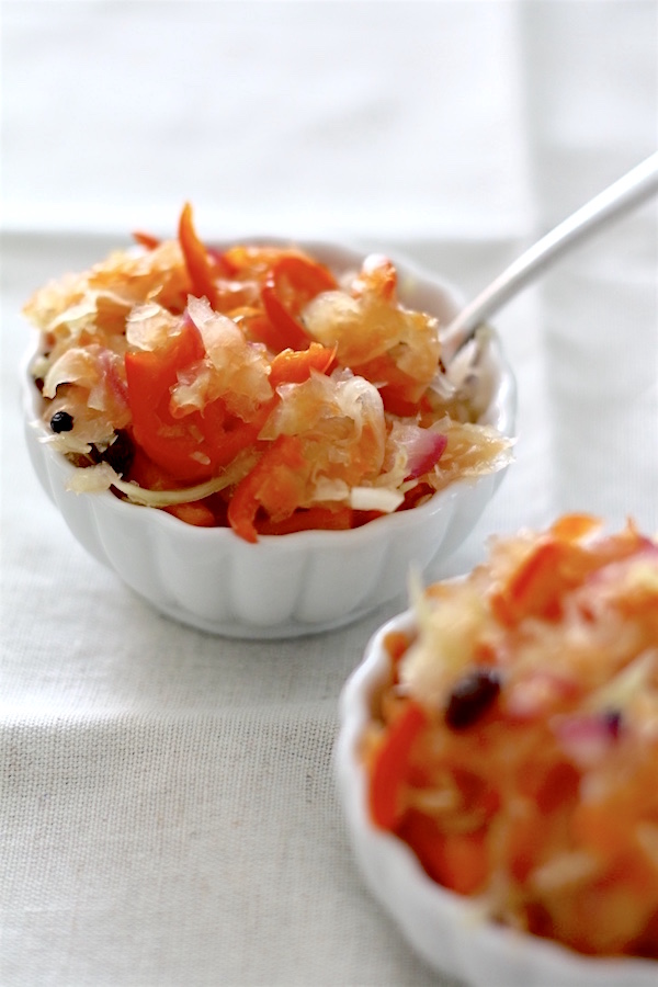 Atcharang Papaya (Pickled Green Papaya) | SpoonfulOfButter.com