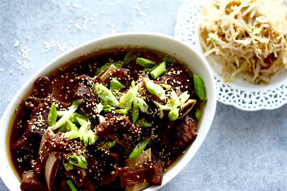 Korean Beef Stew | www.SpoonfulOfButter.com