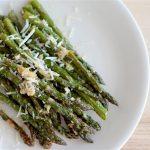 Parmesan Roasted Asparagus   SpoonfulOfButter.com