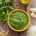 How to make Arugula Pesto | SpoonfulOfButter.com