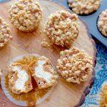 Inside Out Pumpkin Muffins | SpoonfulOfButter.com