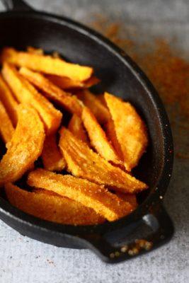 Crispy Sweet Potato Fries | SpoonfulOfButter.com