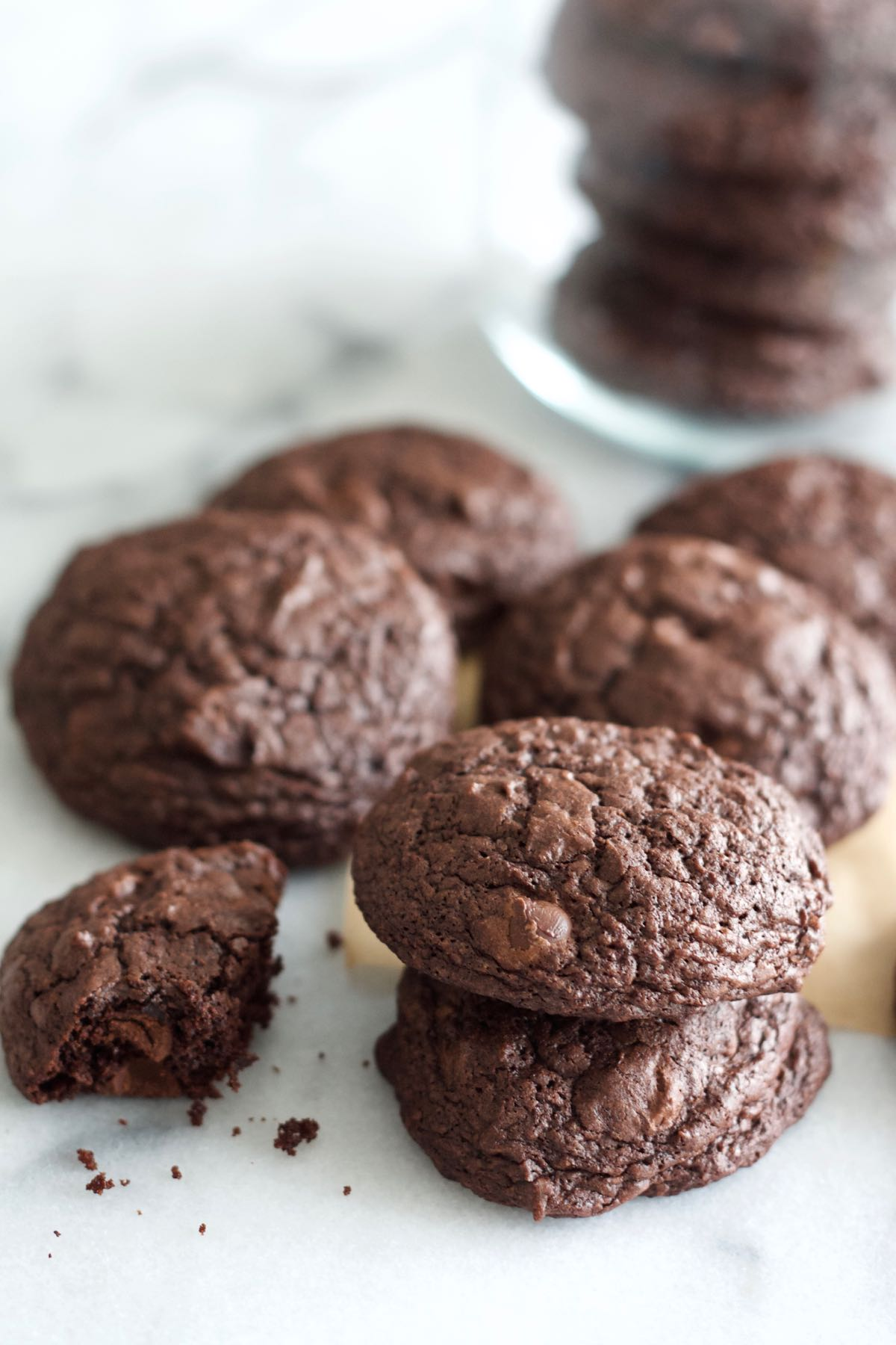 Deep Dark Chocolate Chip Cookies | Spoonful Of Butter
