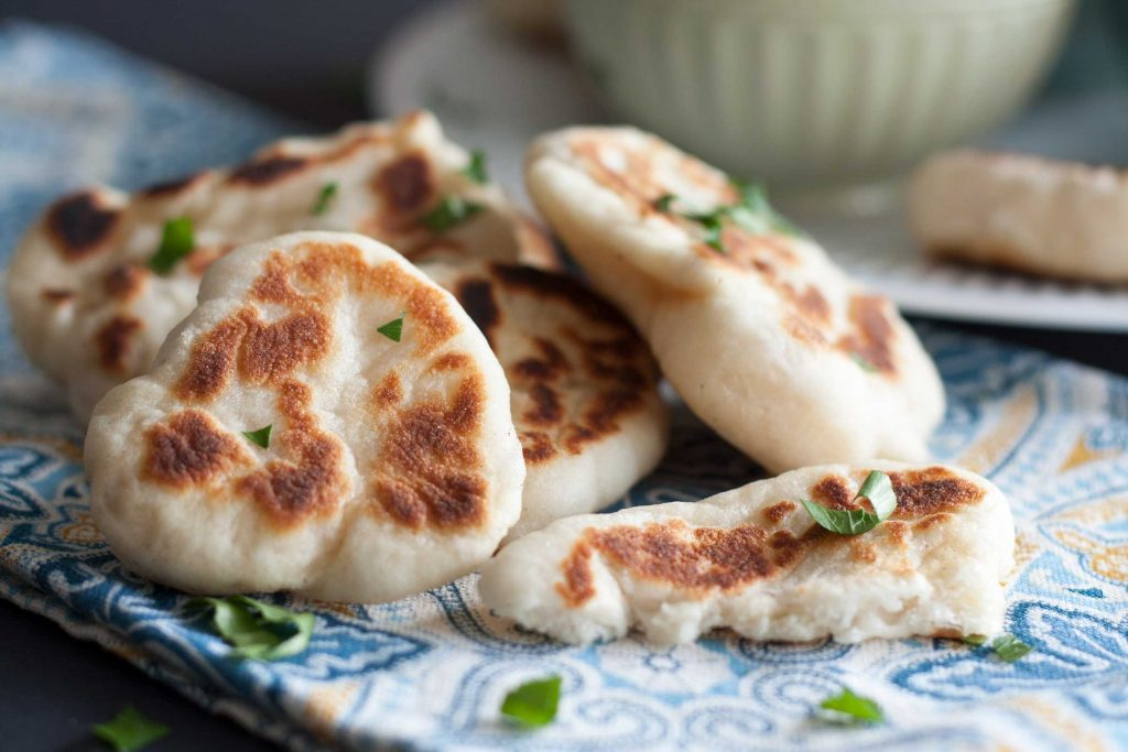 Make your own Naan Dippers at home. | www.SpoonfulOfButter.com