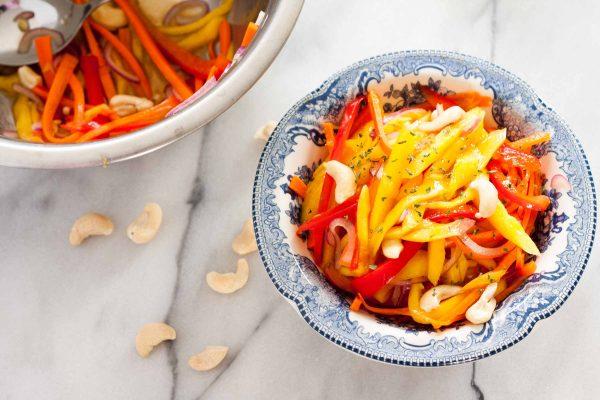 Thai Mango Salad | www.SpoonfulOfButter.com