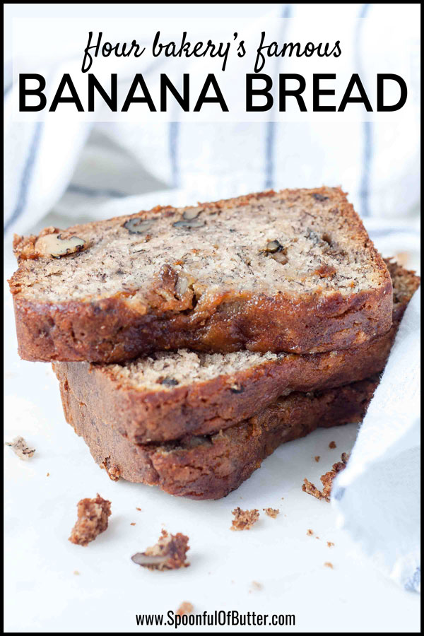 stack of best ever banana bread