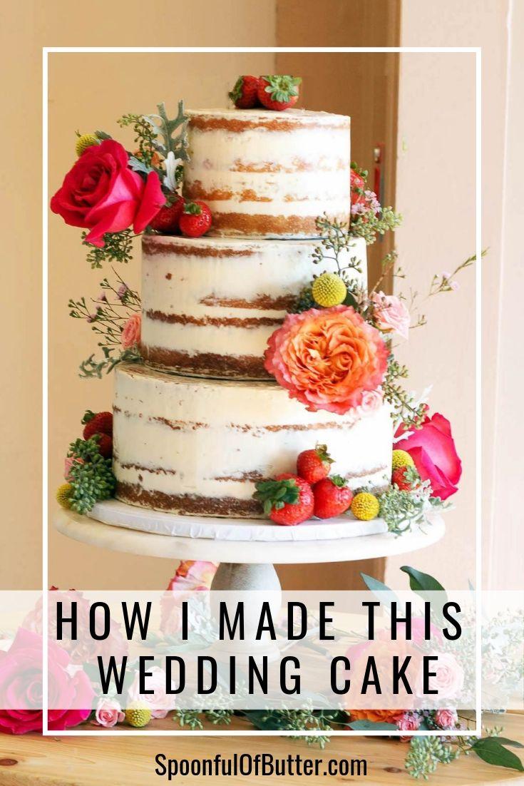 How I made this wedding cake